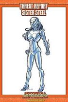 Mutants & Masterminds Threat Report #13: Sister Steel