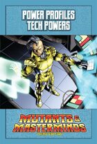 Mutants & Masterminds Power Profile #5: Tech Powers