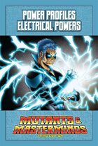 Mutants & Masterminds Power Profile #7: Electrical Powers
