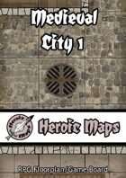 Heroic Maps: Medieval City 1