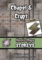 Heroic Maps - Storeys: Chapel & Crypt