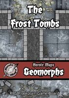 Heroic Maps - Geomorphs: The Frost Tombs