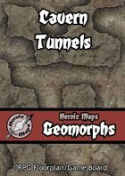 Heroic Maps - Geomorphs: Cavern Tunnels