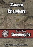 Heroic Maps - Geomorphs: Cavern Chambers