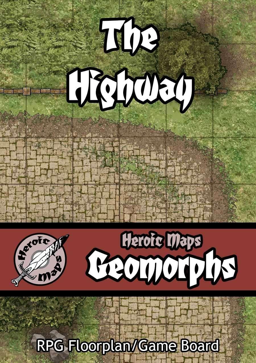 Heroic Maps - Geomorphs: Highway Core Set