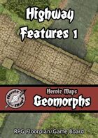 Heroic Maps - Geomorphs: Highway Features 1