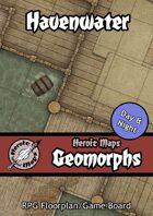 Heroic Maps - Geomorphs: Havenwater