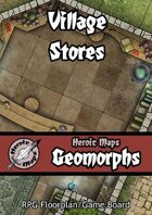 Heroic Maps - Geomorphs: Village Stores