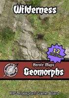 Heroic Maps - Geomorphs: Wilderness