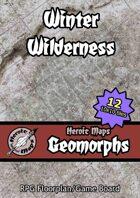 Heroic Maps - Geomorphs: Winter Wilderness