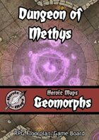 Heroic Maps - Geomorphs: Dungeon of Methys