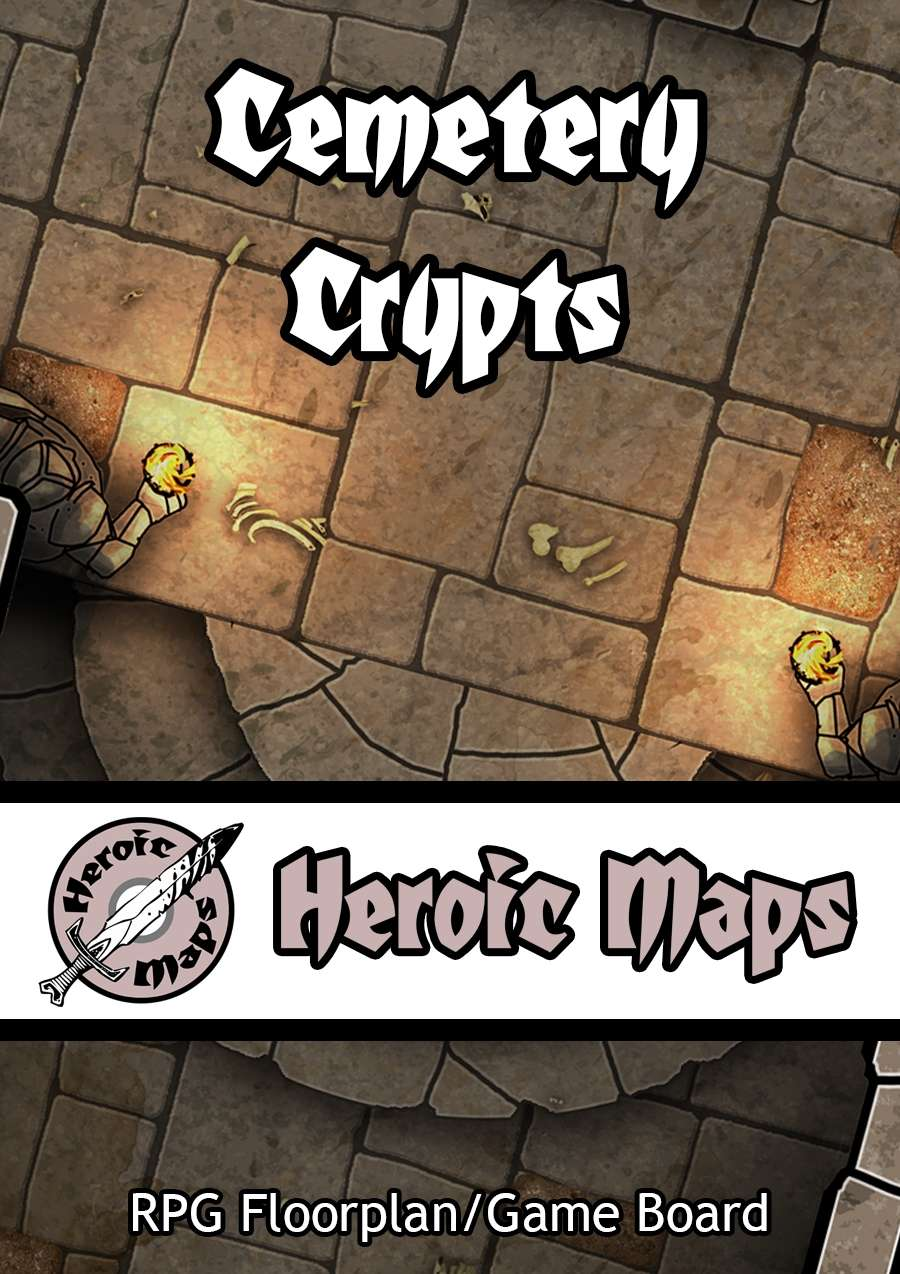 Heroic Maps - Cemetery Crypts