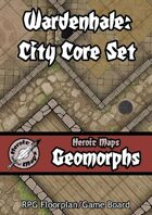 Heroic Maps - Geomorphs: Wardenhale City Core Set