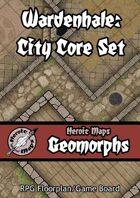Heroic Maps - Geomorphs: Wardenhale City Core Set
