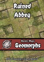 Heroic Maps - Geomorphs: Ruined Abbey