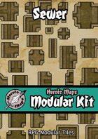 Heroic Maps - Modular Kit: Sewer