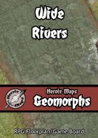 Heroic Maps - Geomorphs: Wide Rivers