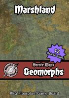 Heroic Maps - Geomorphs: Marshland
