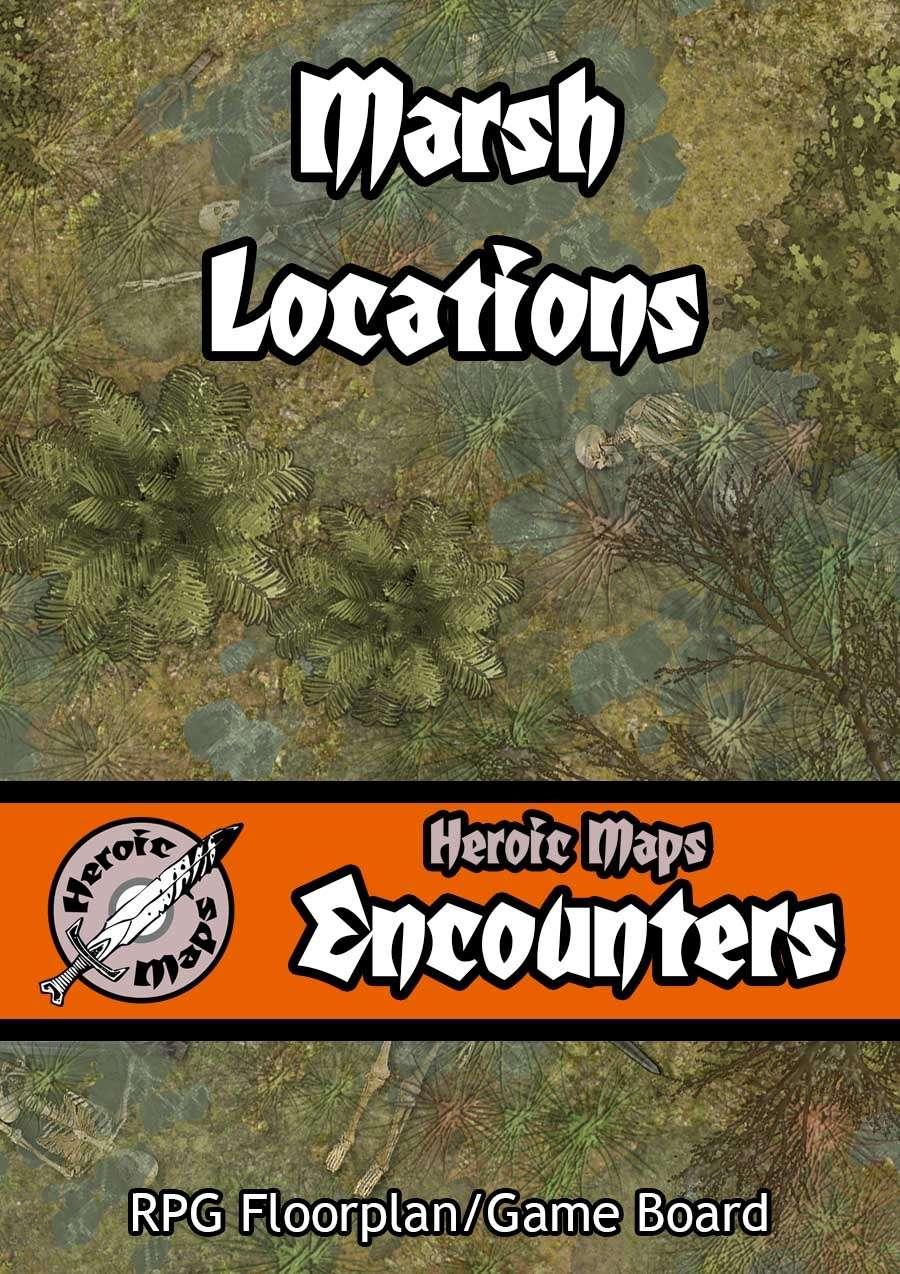 Heroic Maps - Encounters: Marsh Locations