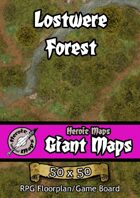 Heroic Maps - Giant Maps: Lostwere Forest