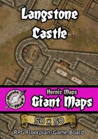 Heroic Maps - Giant Maps: Langstone Castle