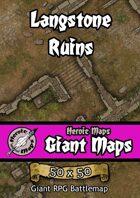 Heroic Maps - Giant Maps: Langstone Ruins