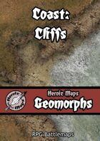 Heroic Maps - Geomorphs: Coast - Cliffs
