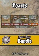 Heroic Maps - Coasts [BUNDLE]