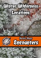 Heroic Maps - Encounters: Winter Wilderness Locations