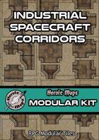 Heroic Maps - Modular Kit: Industrial Spacecraft Corridors