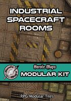 Heroic Maps - Modular Kit: Industrial Spacecraft Rooms