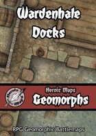 Heroic Maps - Geomorphs: Wardenhale Docks