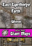 Heroic Maps - Giant Maps: East Lynthorpe Farm Winter