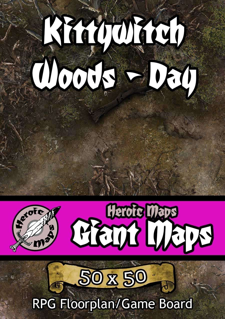 Heroic Maps - Giant Maps: Kittywitch Woods Day