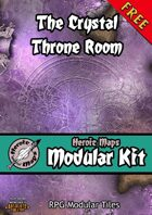 Heroic Maps - Modular Kit: The Crystal Throne Room
