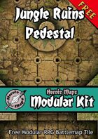 Heroic Maps - Modular Kit: Jungle Ruins Pedestal