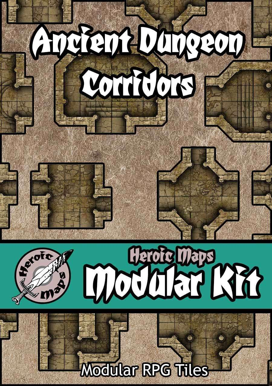 image relating to Printable Dungeon Tiles Pdf referred to as Watermarked PDF