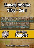 Heroic Maps - Fantasy Modular Tiles [BUNDLE]