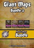 Heroic Maps - Giant Maps Set 2 [BUNDLE]