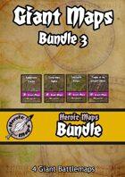 Heroic Maps - Giant Maps Set 3 [BUNDLE]
