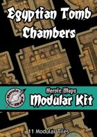 Heroic Maps - Modular Kit: Egyptian Tomb Chambers