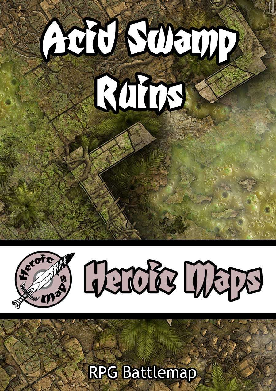 Heroic Maps - Acid Swamp Ruins