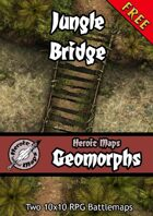 Heroic Maps - Geomorphs: Jungle Bridge