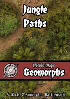 Heroic Maps - Geomorphs: Jungle Paths