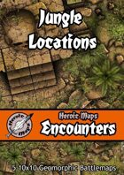 Heroic Maps - Encounters: Jungle Locations