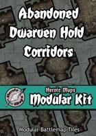 Heroic Maps - Modular Kit: Abandoned Dwarven Hold Corridors