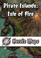 Heroic Maps - Pirate Islands: Isle of Fire