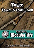 Heroic Maps - Modular Kit: Town - Tavern & Town Guard