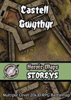 Heroic Maps - Storeys: Castell Gwythyr