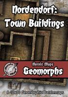 Heroic Maps - Geomorphs: Nordendorf - Town Buildings